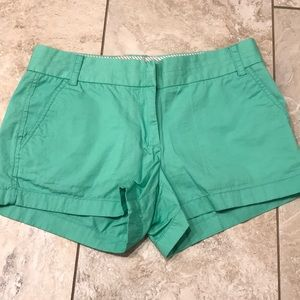 JCrew chino mint green shorts 💯% cotton
